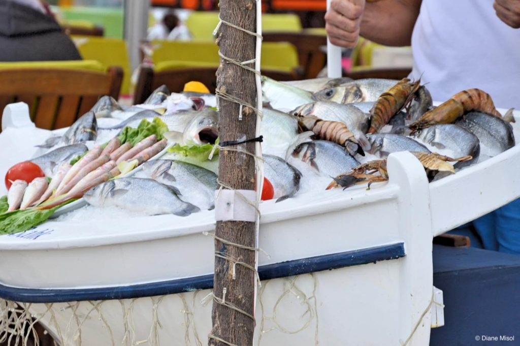 Fresh Seafood, Bodrum, Turkey