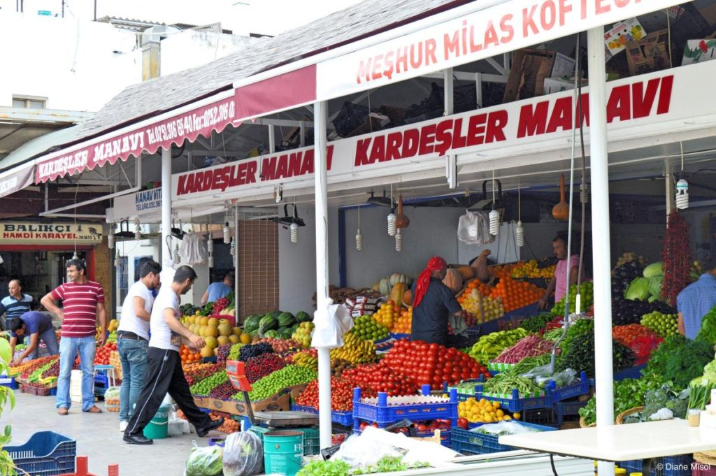 Fruit and Veggie Market. Bodrum, Turkey