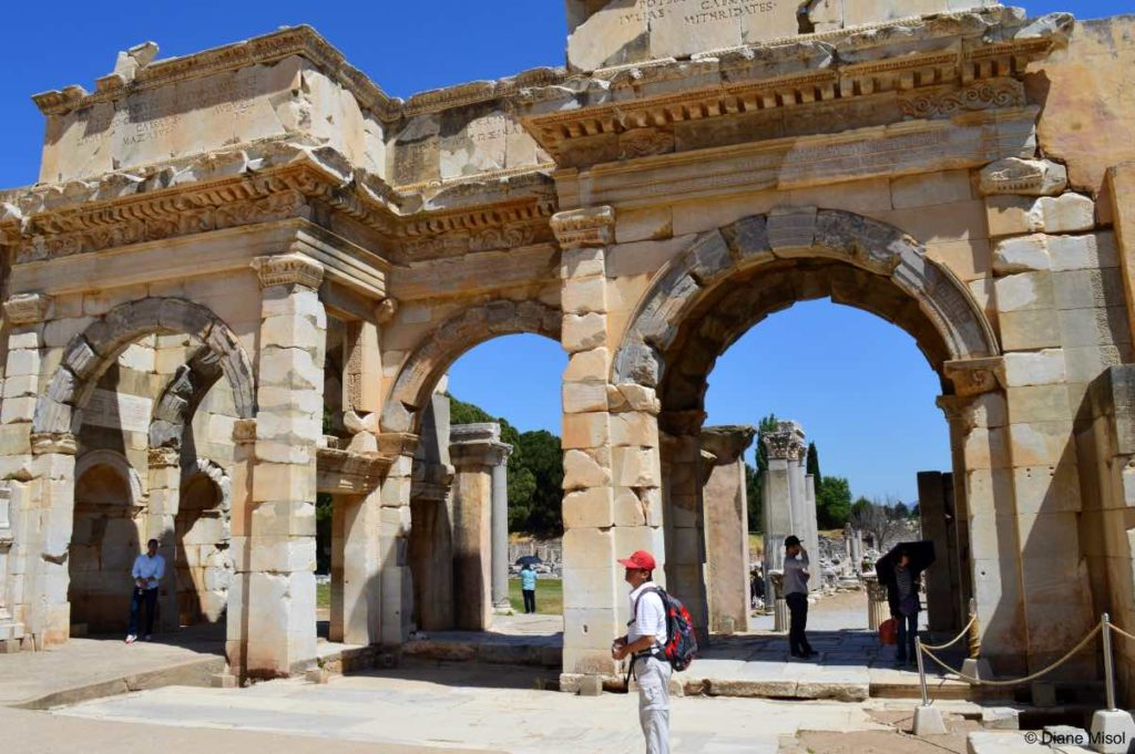 Gate of Mazeus and Mythridates, Ephesus, Turkey