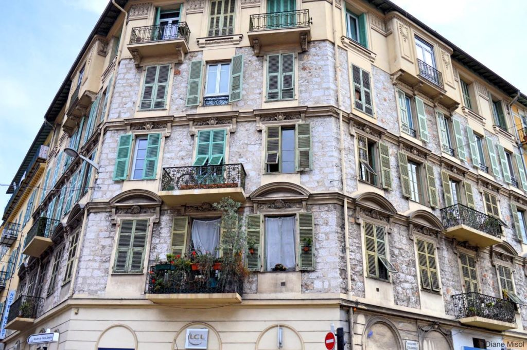 Grand Building. Nice, France
