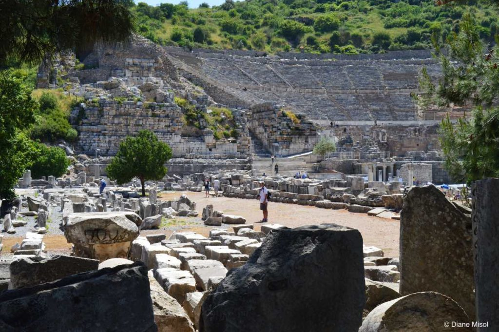 Great Theatre of Ephesus, Biblical Significance, Apostle Paul Preached Here