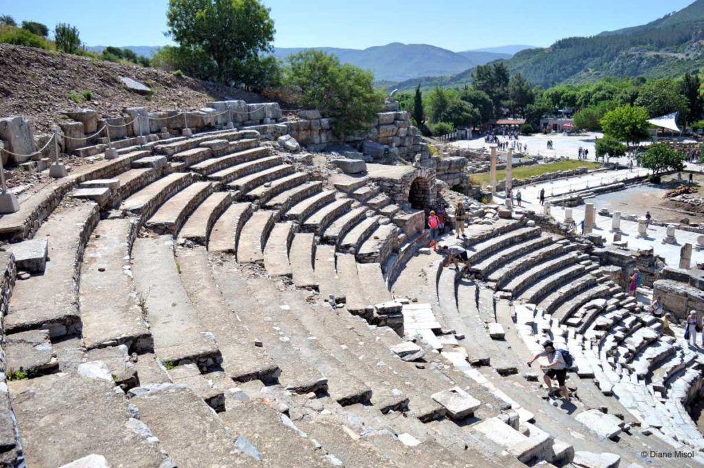 High Seats, Odeion, Ephesus Ruins, Turkey