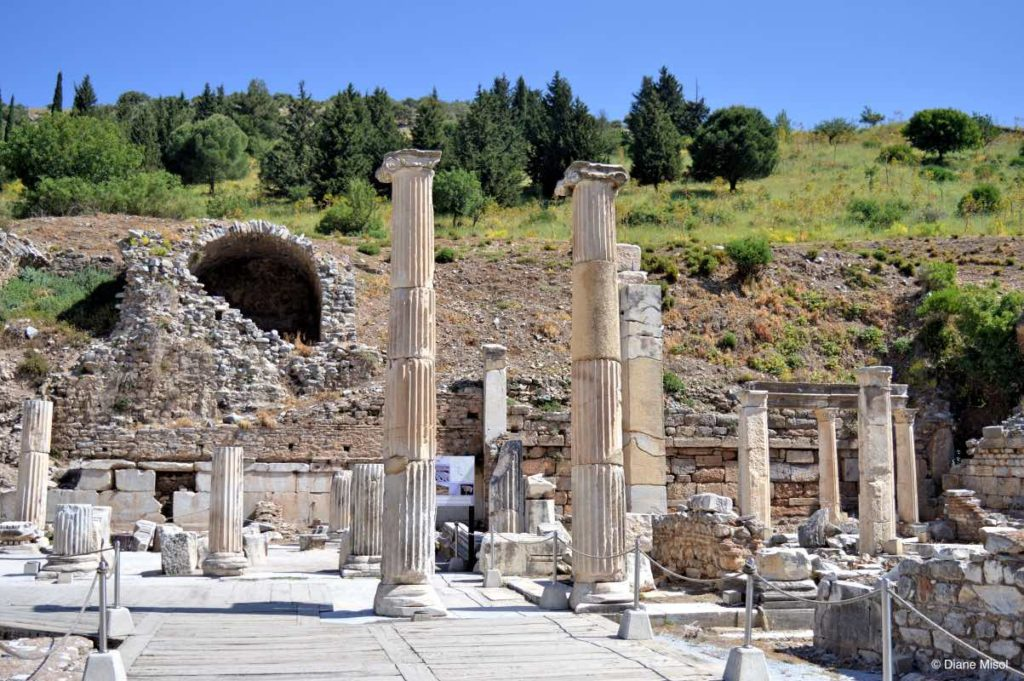 Historic Ephesus Ruins, Turkey