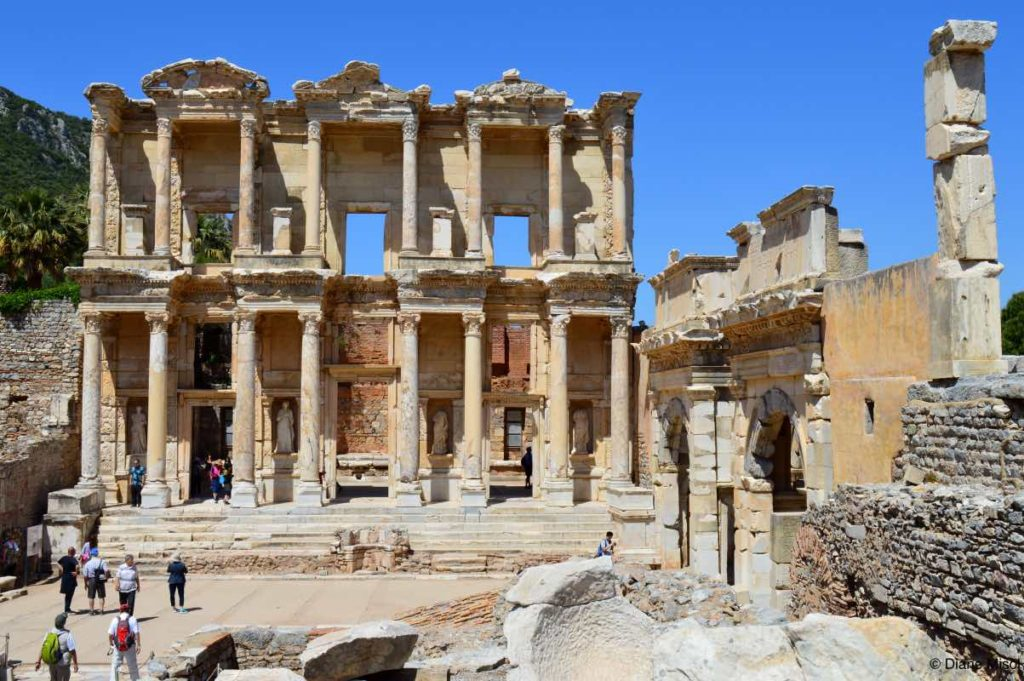 Library of Celsus Marble Wonder. Ephesus