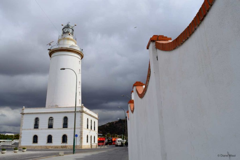 Lighthouse, Malaga, Spain