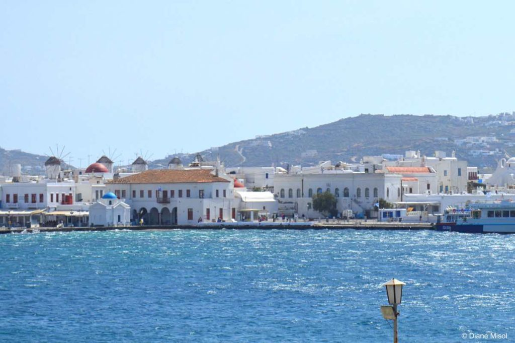 Waterfront, Mykonos, Greece