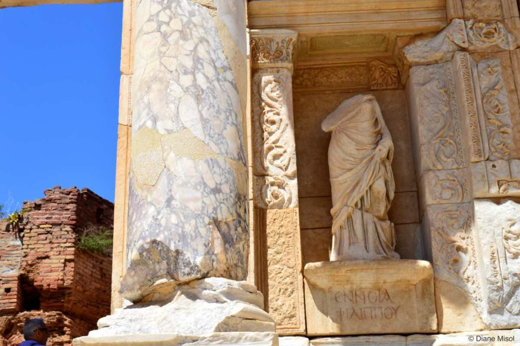 Magnificent Statues. Ephesus, Turkey
