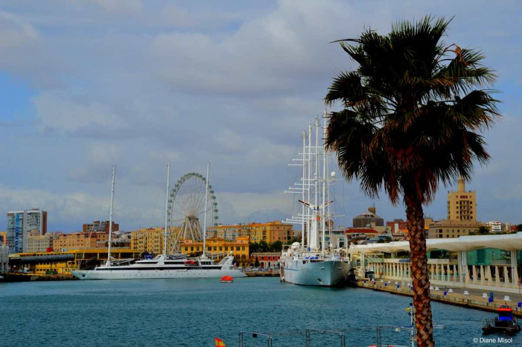 Malaga Big Wheel. Spain