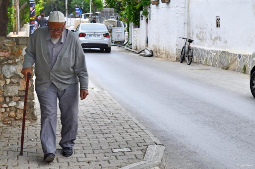 Man on Street. Bodrum, Turkey