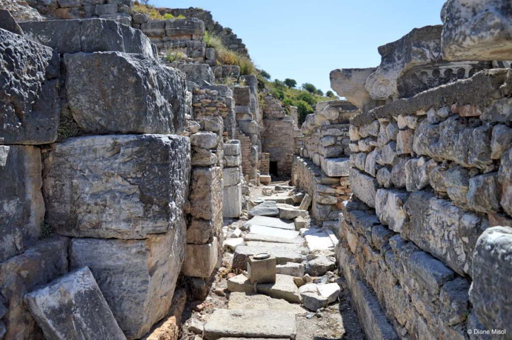 Odeion Hallways. Ephesus, Turkey