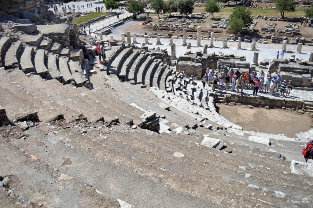 Odeon from the Upper Seats. Ephesus, Turkey