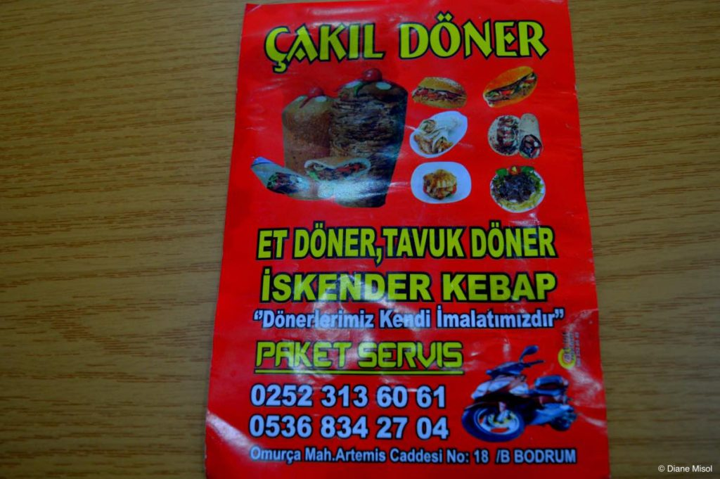 Our Choice for Doner, Bodrum, Turkey