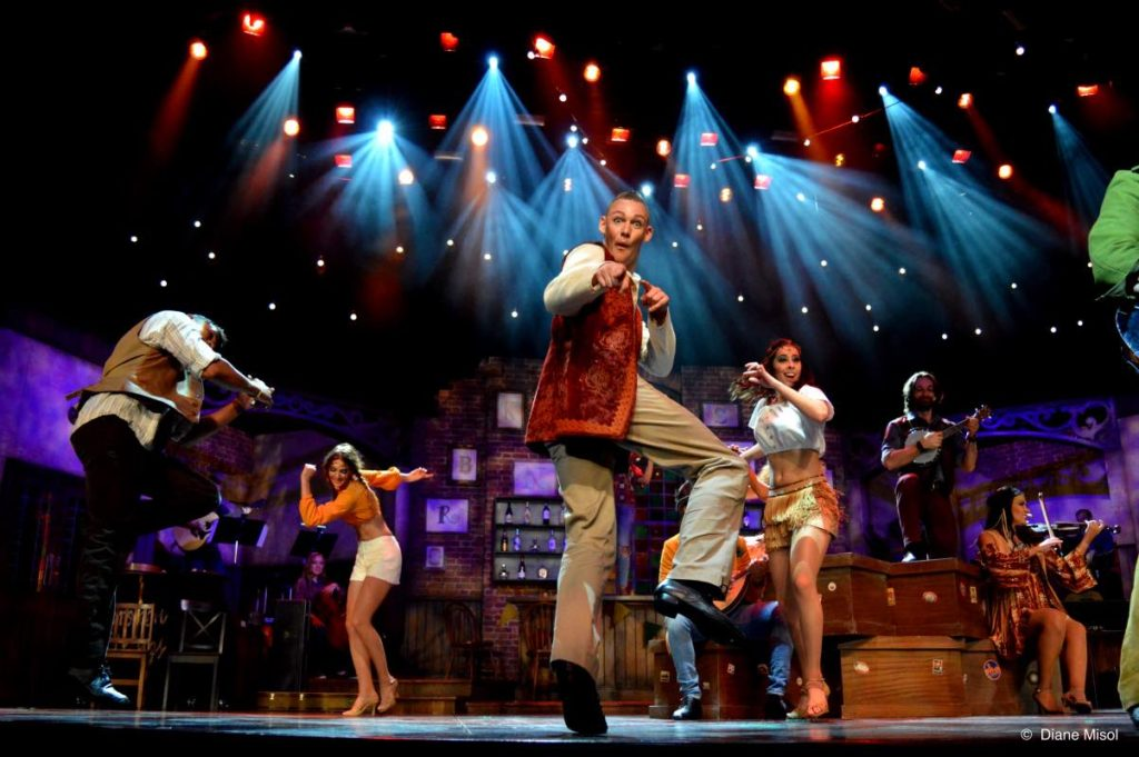 Party is On in Broken Strings the Stageplay Musical, Celebrity Cruises