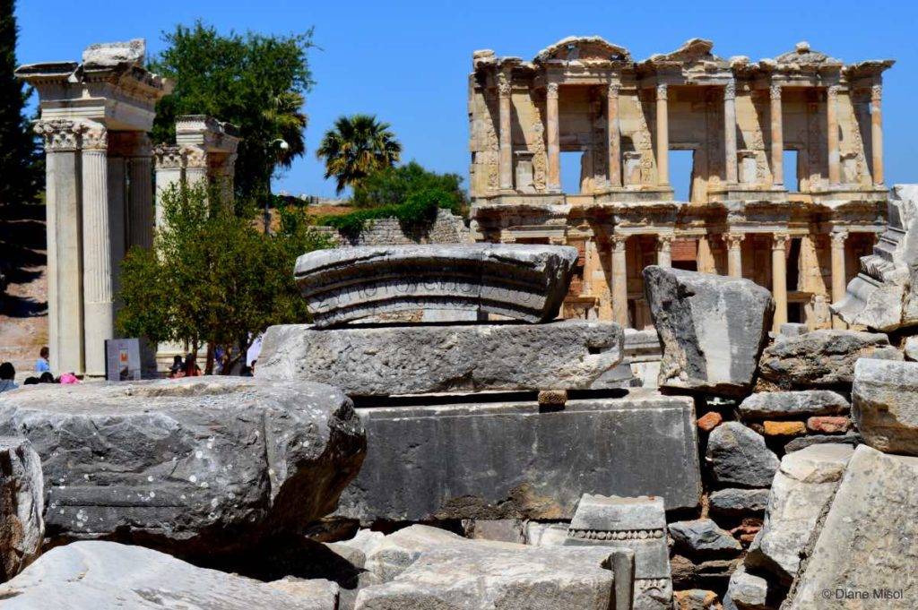 Piecing together History in Ephesus, Turkey