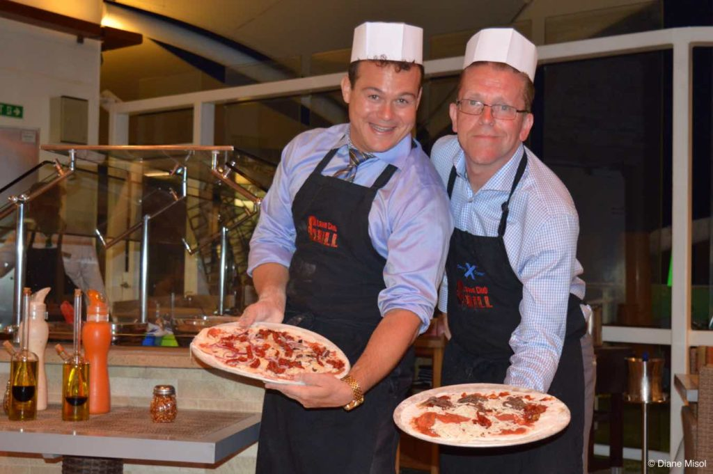 Pizza Pride, Celebrity Reflection Lawn Club Grill