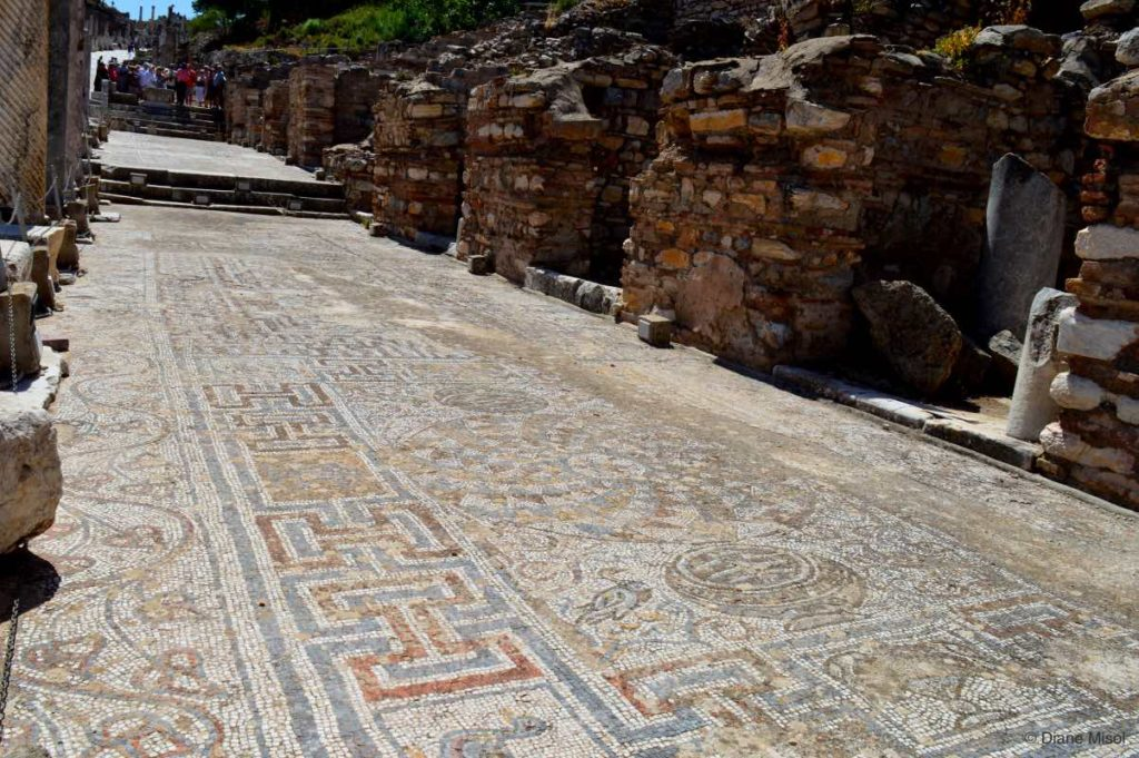 Portico of Alytarch Mosaic Walk. Ephesus