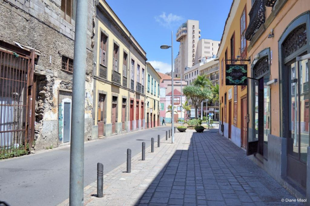 Quiet Street. Tenerife, Canary Islands