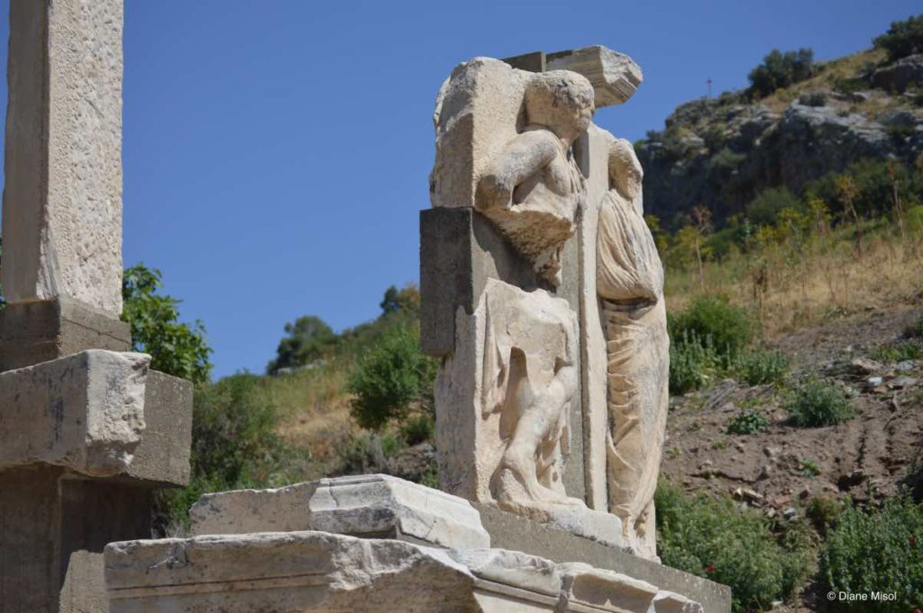Random Sculptures Stand Through Time in Ephesus