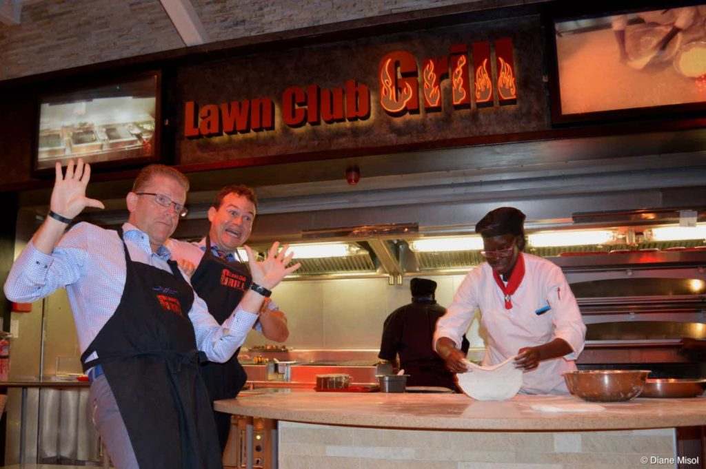 Ready to Learn at the Lawn Club Grill Lesson, Celebrity Reflection Cruise