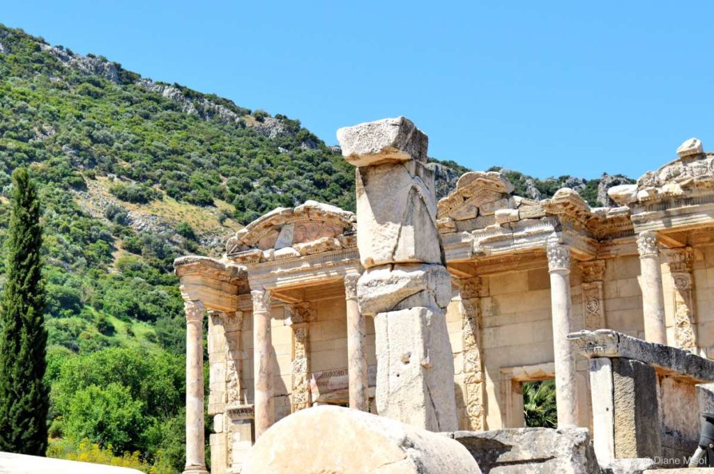 Remains of Ancient Ephesus, Turkey