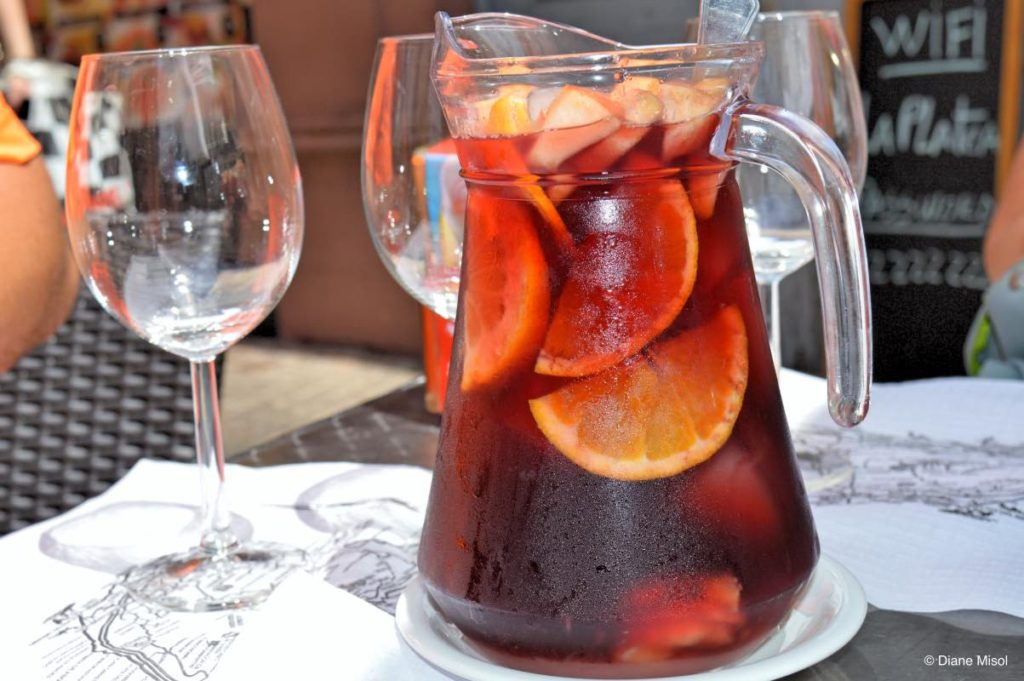 Sangria. Tenerife, Canary Islands