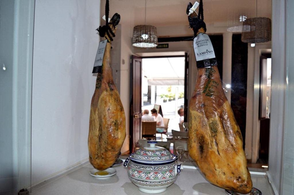 Specialty Cured Ham Iberico. Tenerife, Spain