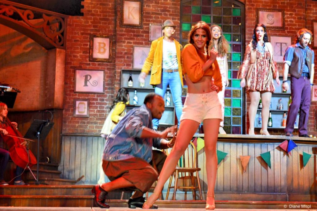 Spirited, Bold, Broken Strings. Celebrity Cruises Stage Play Musical