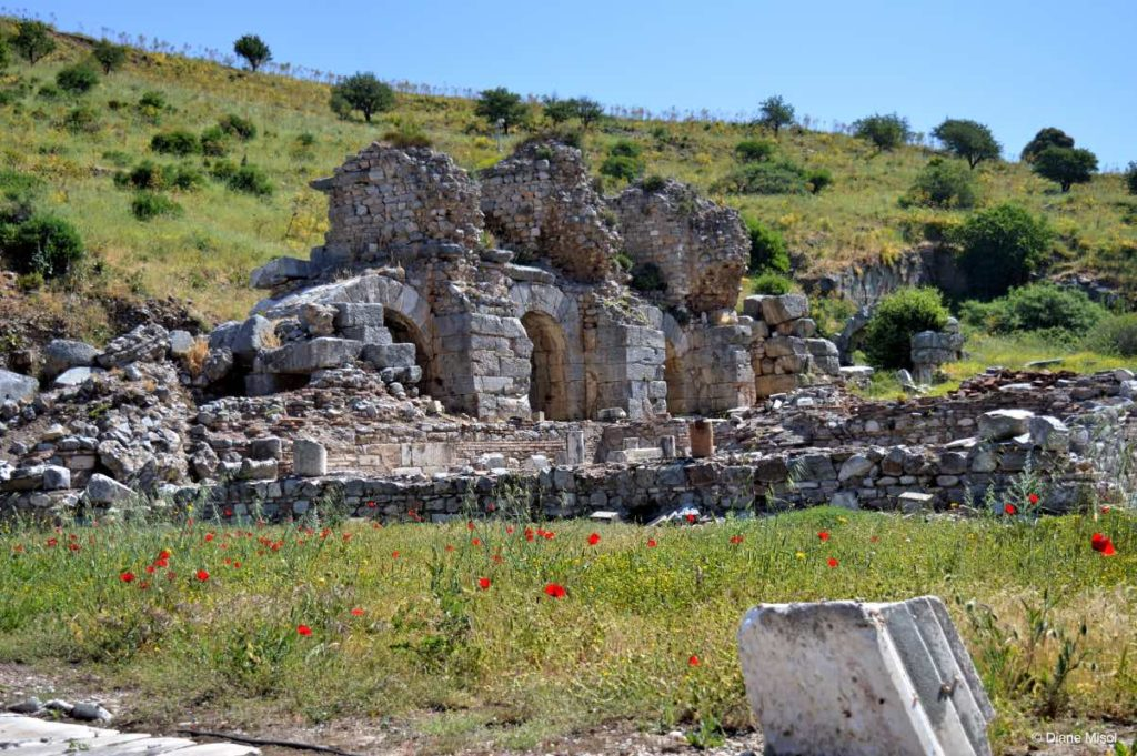 Square of Verulanus, Ephesus, Seljuk, Turkey