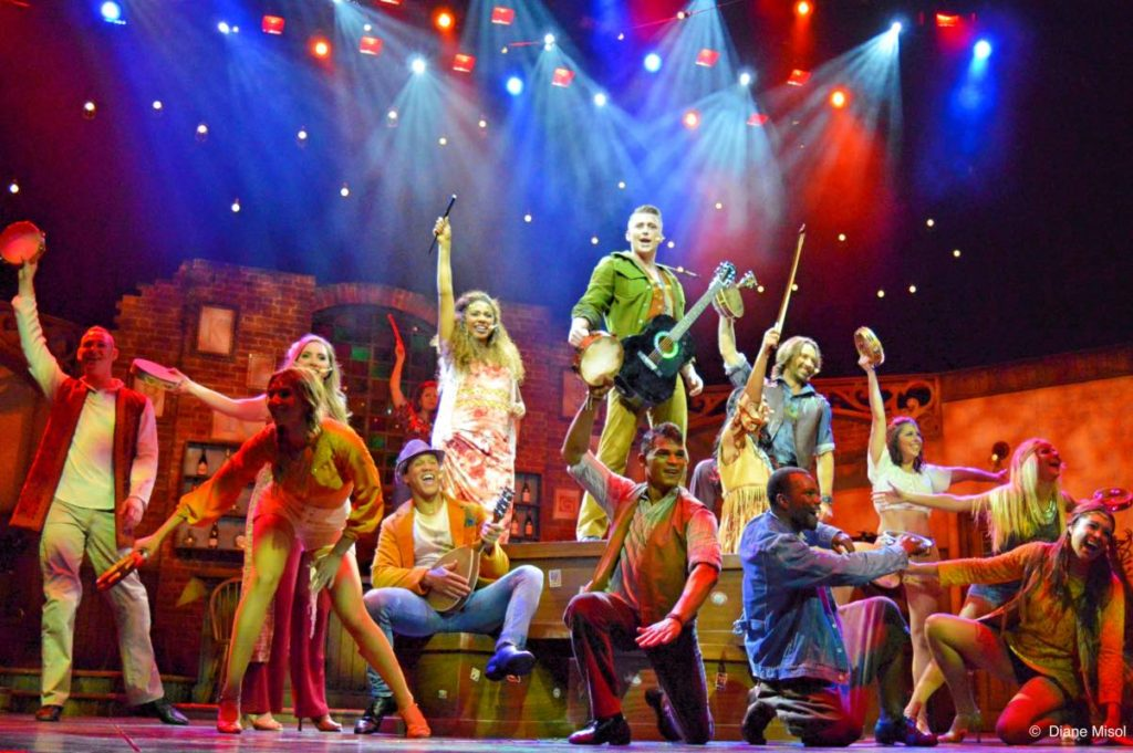 The Incredibly Talented Cast of Broken Strings, Celebrity Cruises Musical