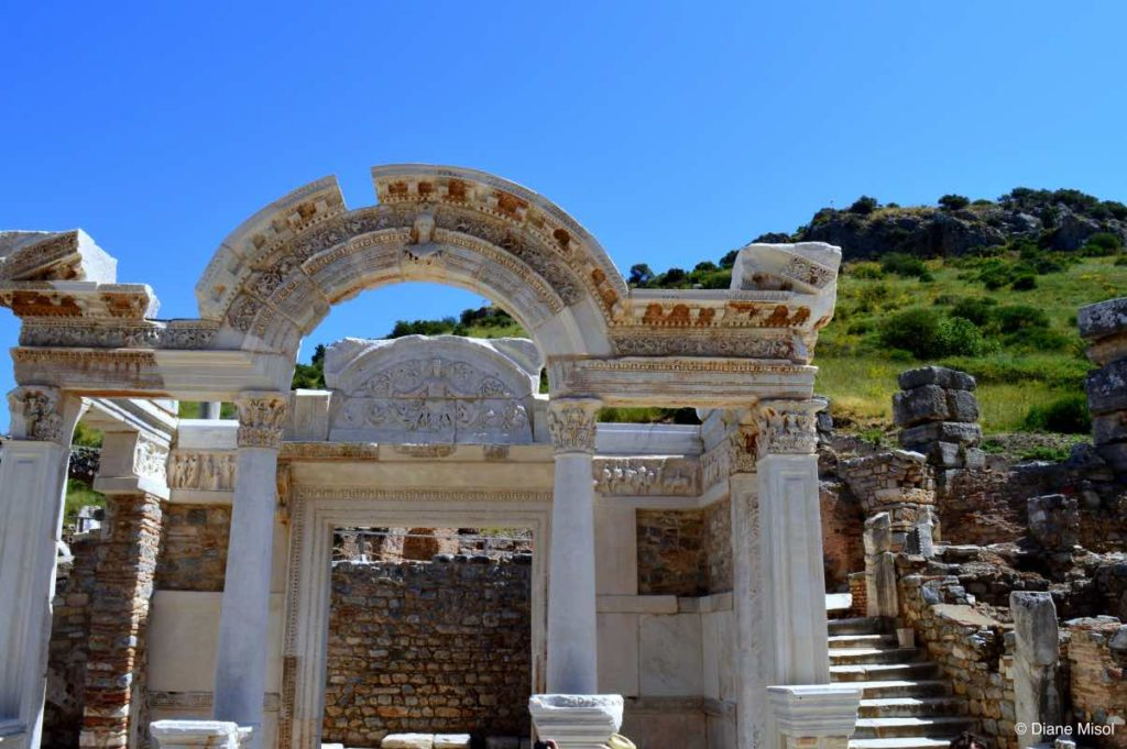 Temple of Hadrian, Ephesus, Selcuk, Turkey