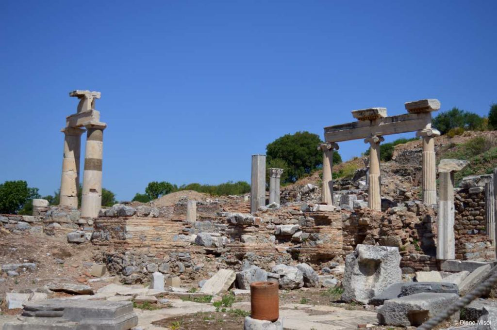 Temples of Dea Roma and Divus Julius Ceasar, Ephesus