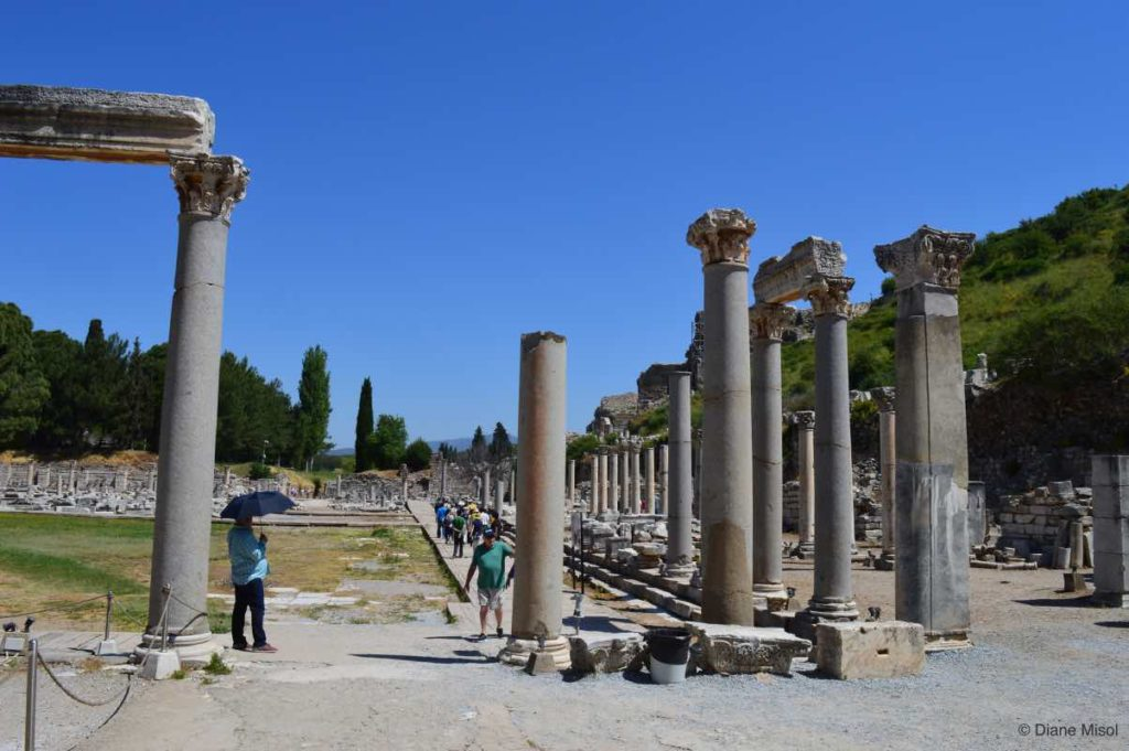 The Arcadiane Main Street, Ephesus, Turkey
