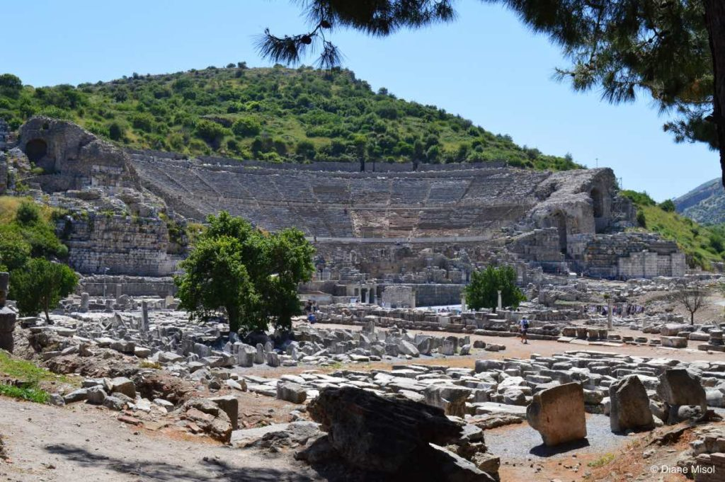 The Great Theatre of Ephesus, Panayir Hill