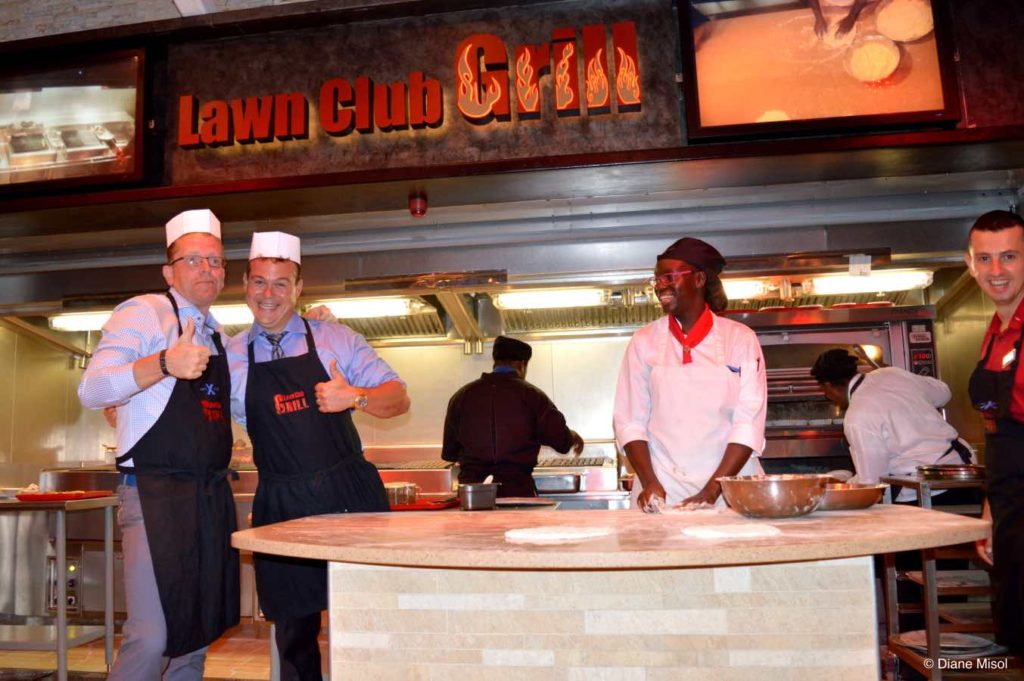 Thumbs Up! Lawn Club Grill, Celebrity Cruises