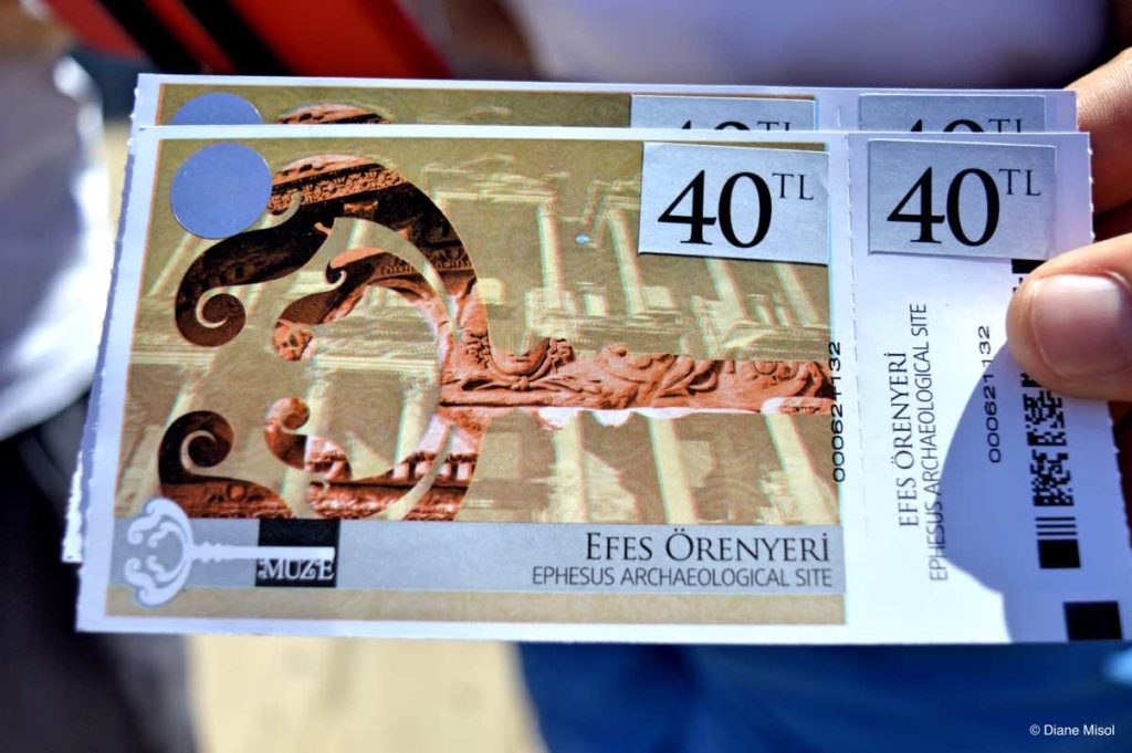 Tickets to Ephesus Archaeological Site