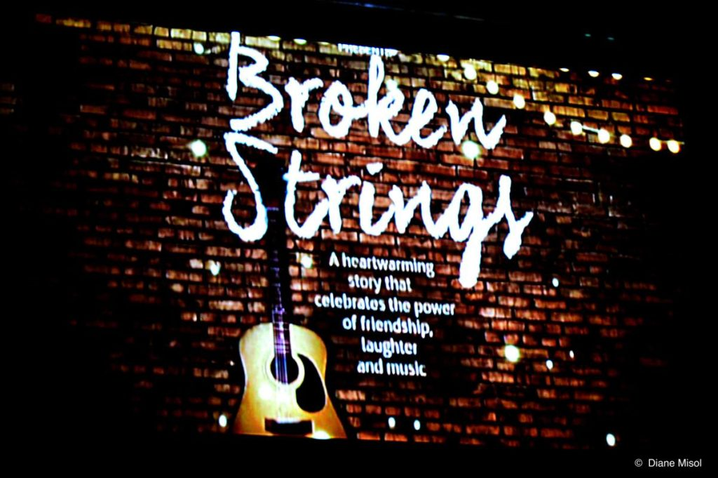 Screen Title, Broken,Strings. Celebrity Cruises Stage Show