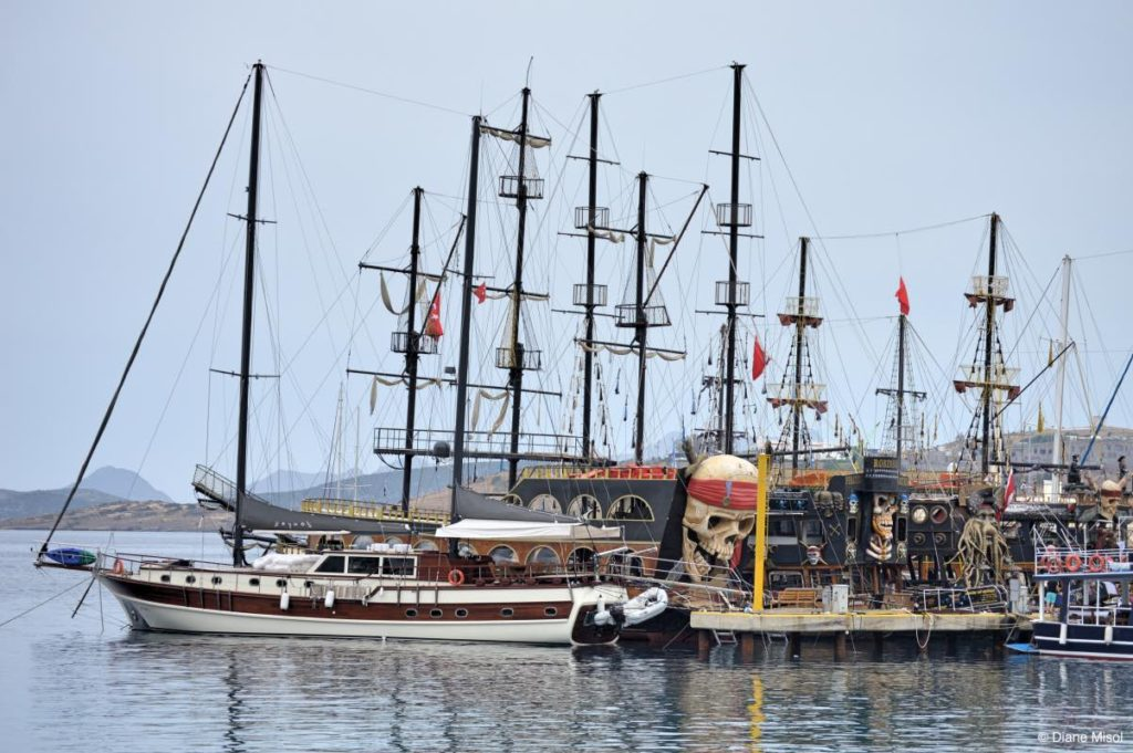 Tourist Boat Tours, Bodrum, Turkey
