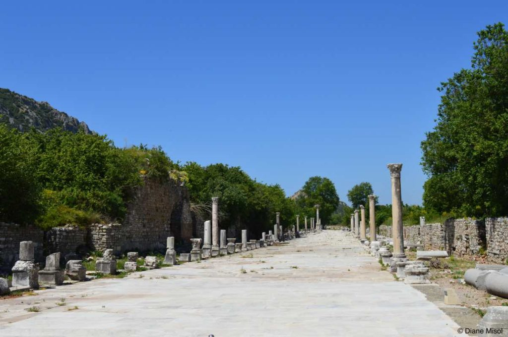 Trading Agora, Harbor Street. Ancient Streets of Ephesus