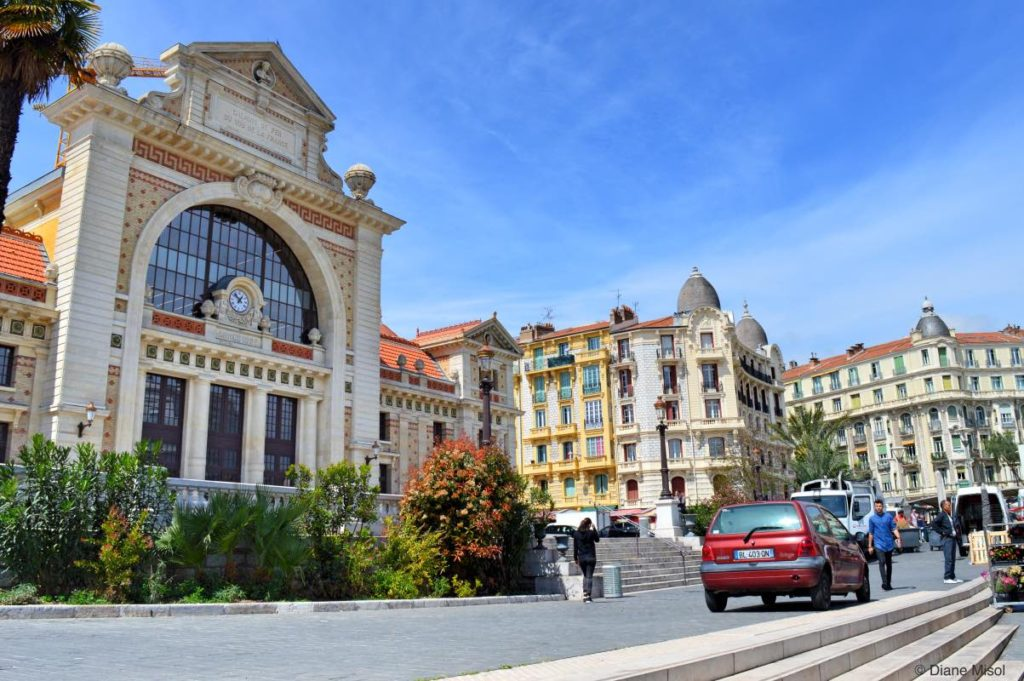 Train Station and Beautiful Architecture. Nice, France