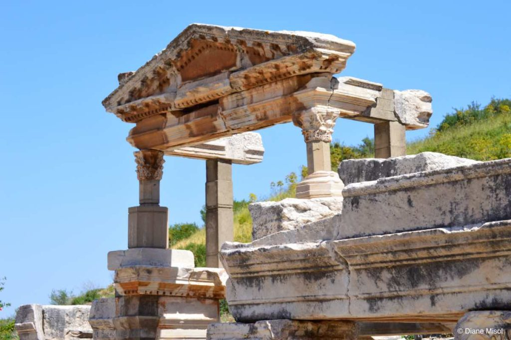 Trajan Fountain Consecrated to the Emperor Ephesus