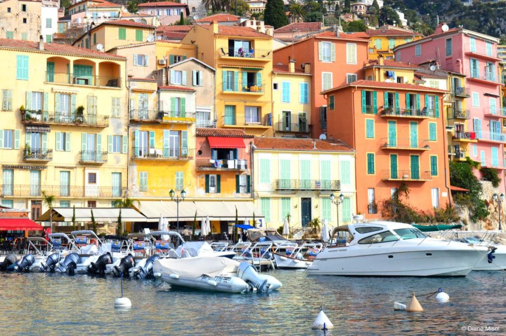 Villefranche Harbour. French Riviera, France