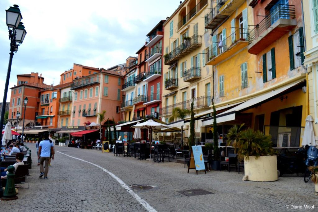 Waterfront Promenade, Villefranche, France