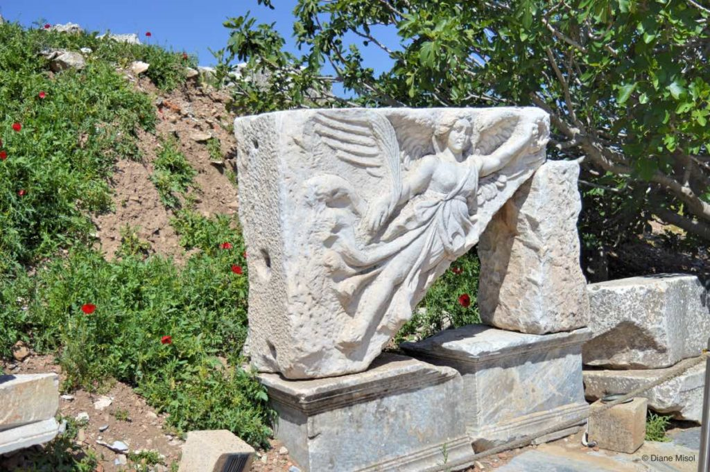 Winged Angel of Victory at Hercules Gate, Ephesus
