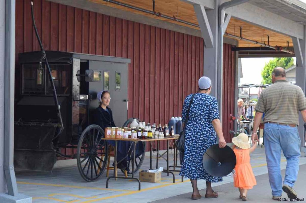 A Morning at the Market in St. Jacobs, Ontario