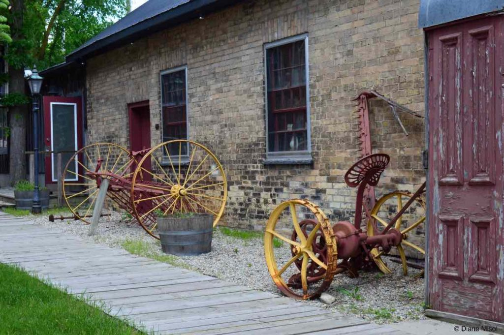 Antique Field Equipment. St. Jacobs, Ontario, Canada