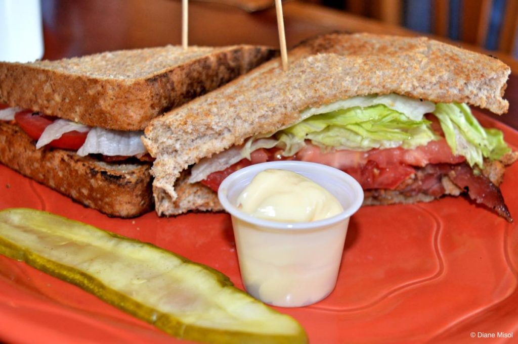 BLT Sandwich. Gorge Country Kitchen, Elora, Ontario, Canada