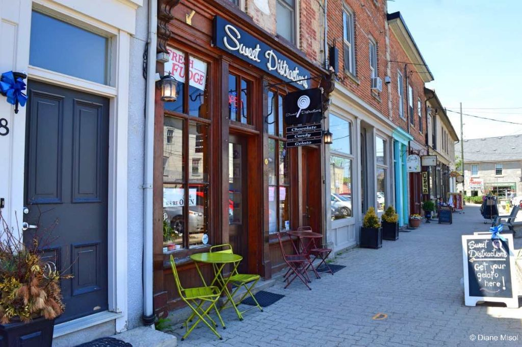 Elora Ontario Attractions and Shops, Canada