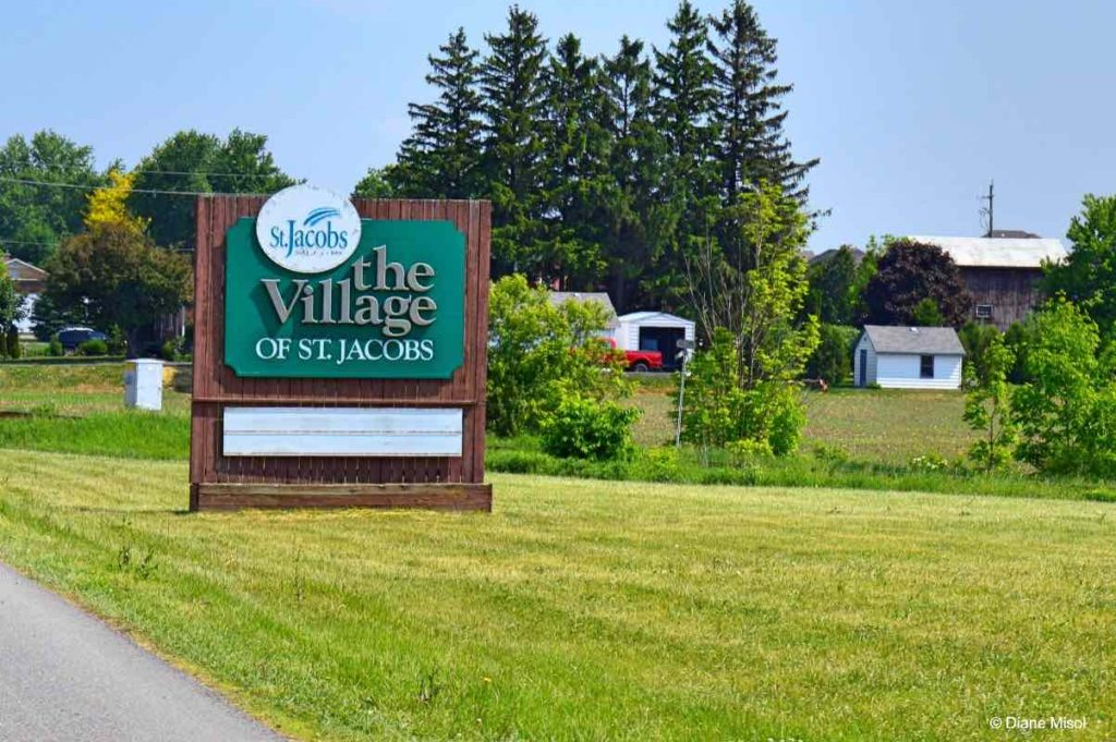 Entering the Village of St. Jacobs, Ontario, Canada