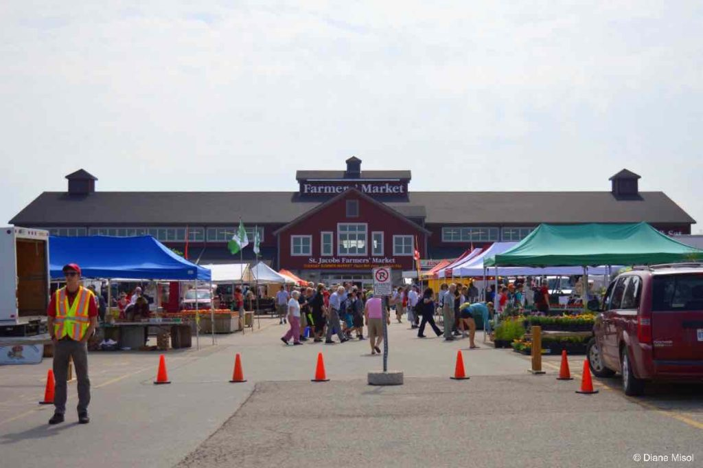 Farmers Market Building, St. Jacobs, Ontario