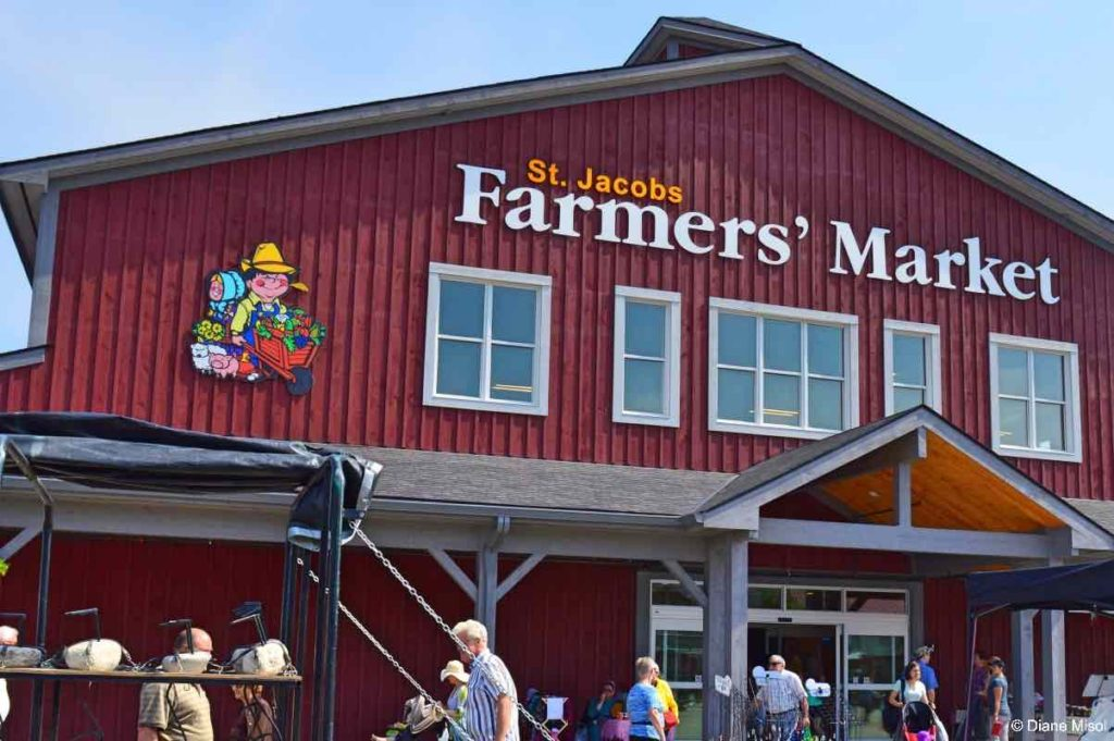 Farmers Market Building. St Jacobs, Ontario